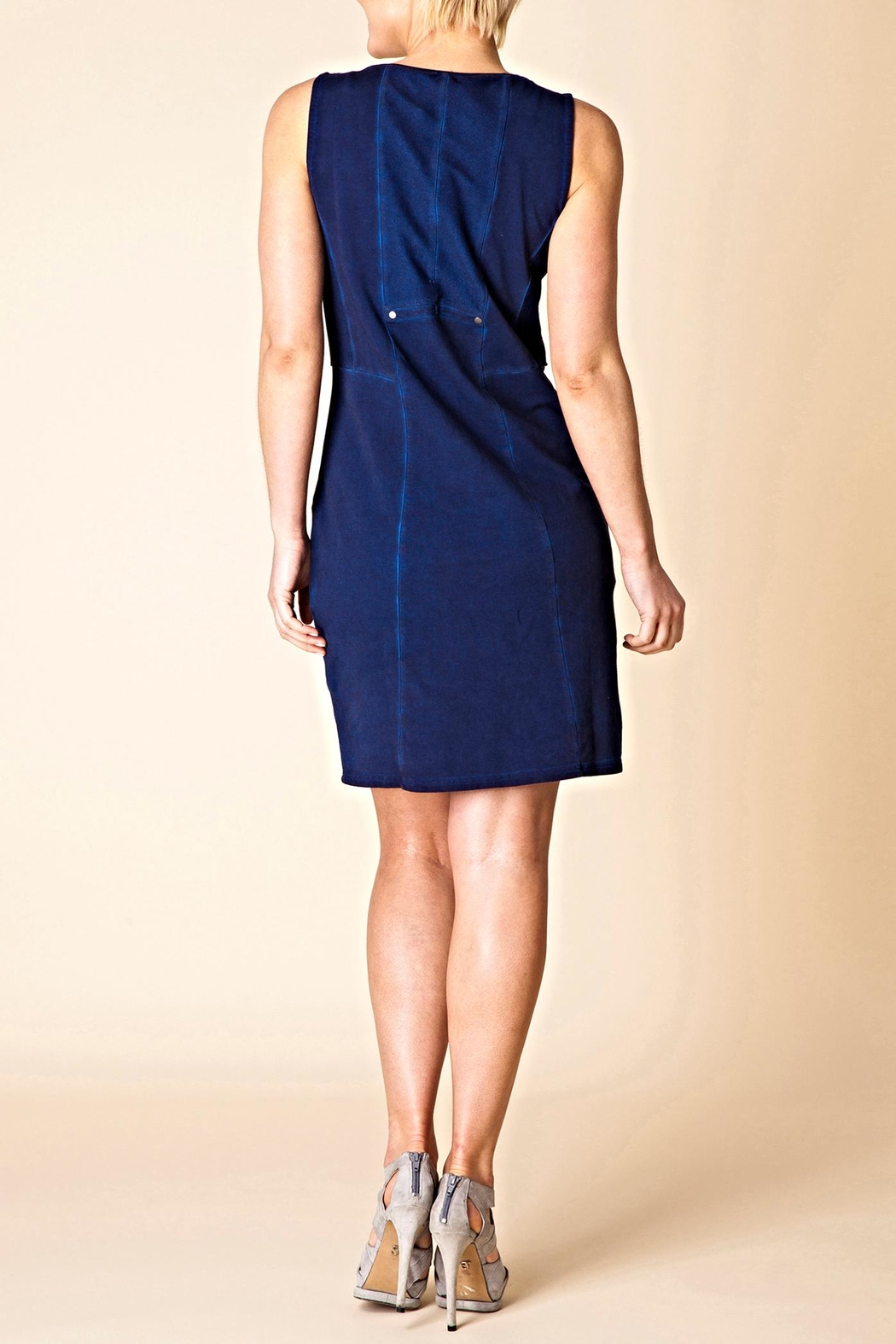 Yest Ultimate Indigo Dress - Front Full Image