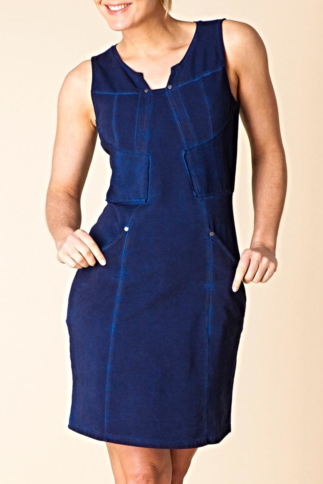 Yest Ultimate Indigo Dress - Main Image