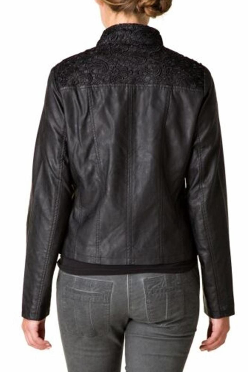 Yest Vegan Leather Jacket - Front Full Image