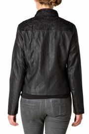 Yest Vegan Leather Jacket - Front full body