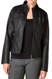 Yest Vegan Leather Jacket - Front cropped
