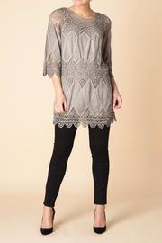 Yest Vintage Knit Tunic Top - Product Mini Image