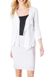 Yest White Cardigan Wrap - Product Mini Image