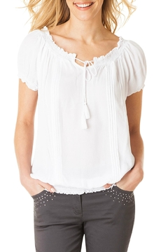 Shoptiques Product: White Peasant Top