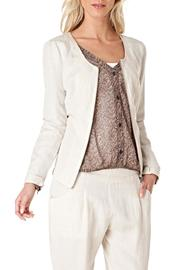 Yest Zip Linen Jacket - Product Mini Image