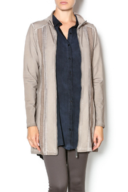 Yest Zip Up Long Jacket - Product Mini Image