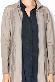 Yest Zip Up Long Jacket - Other