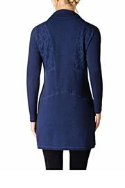 YEST of Holland Blue Lace Jacket - Front full body