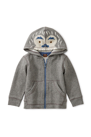Tea Collection Yeti Zip Baby Hoodie - Product Mini Image