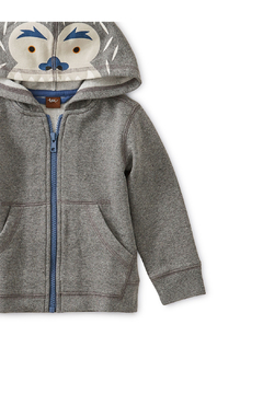 Tea Collection Yeti Zip Baby Hoodie - Alternate List Image