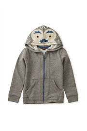 Tea Collection Yeti Zip Hoodie - Front cropped