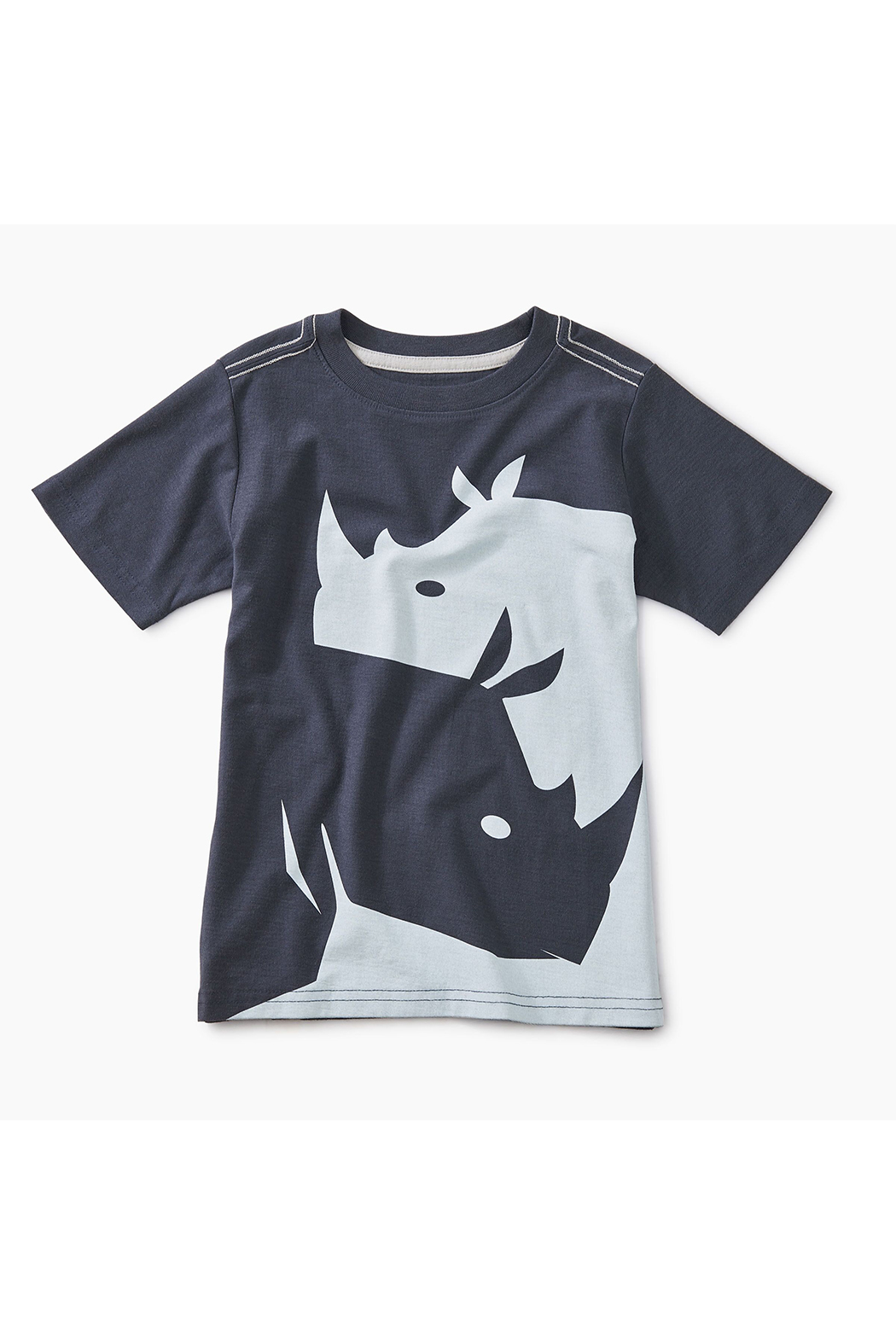 Tea Collection Ying Yang Rhino Graphic Tee - Main Image