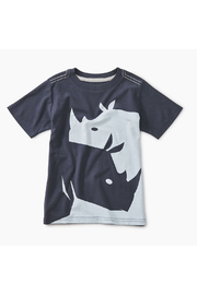 Tea Collection Ying Yang Rhino Graphic Tee - Front cropped