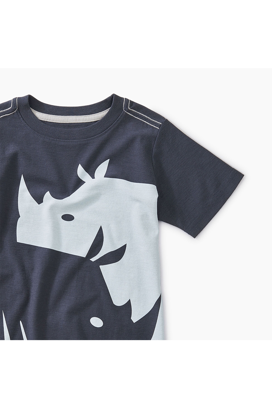 Tea Collection Ying Yang Rhino Graphic Tee - Front Full Image