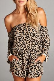 Yipsy Animal Print Romper - Product Mini Image