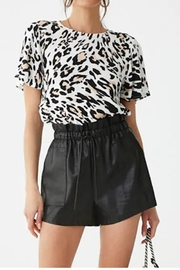 Yipsy Animal Print Top - Product Mini Image