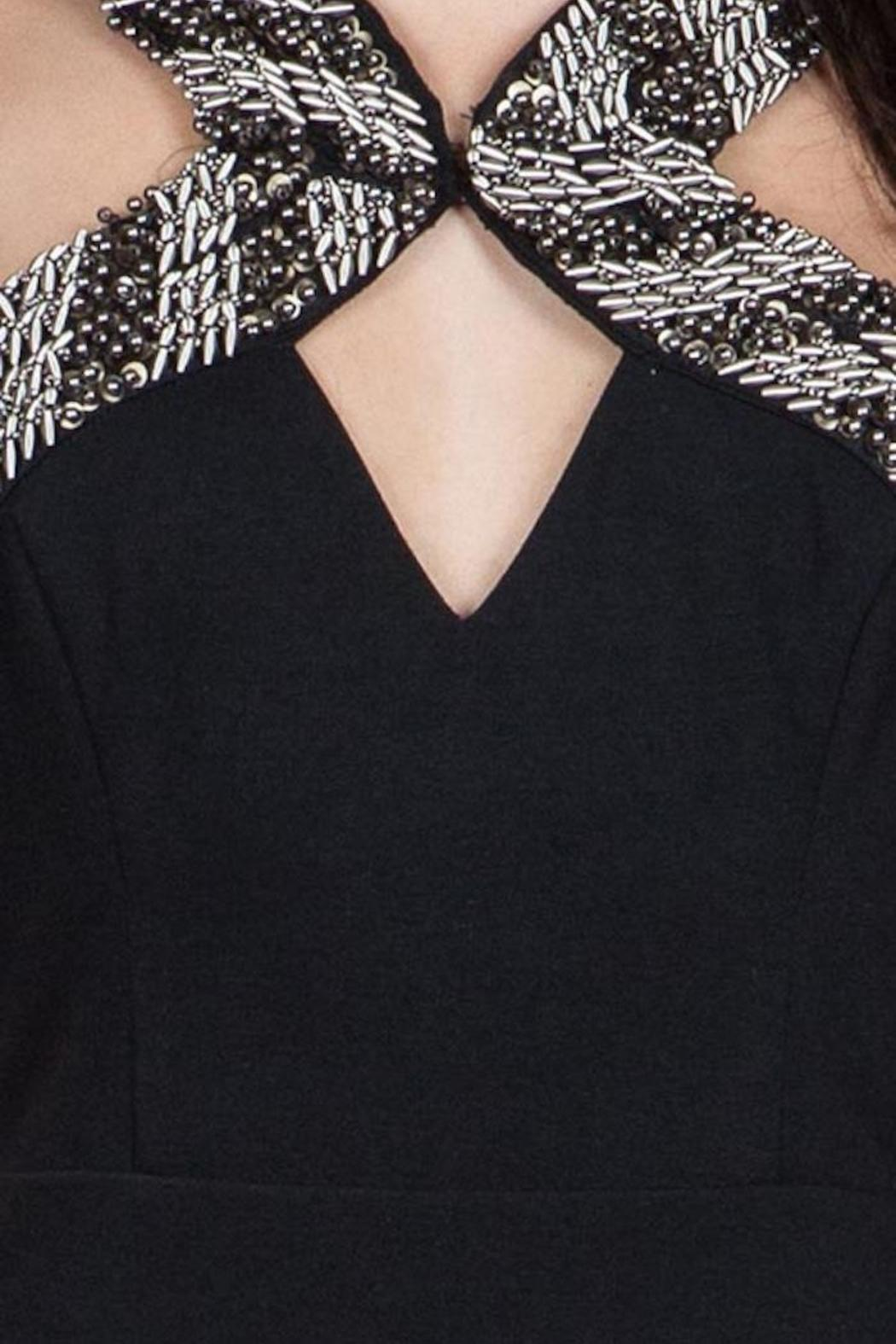 Yipsy Beaded Detail Dress - Side Cropped Image