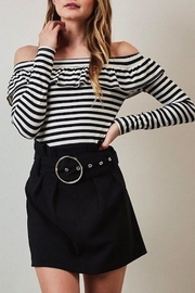 Yipsy Black Mini Skirt - Product Mini Image