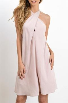 Shoptiques Product: Blush Wrapover Dress