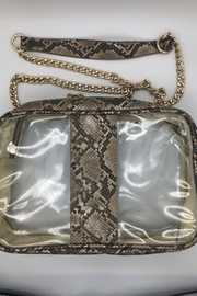 Yipsy Clear Python Handbag - Product Mini Image