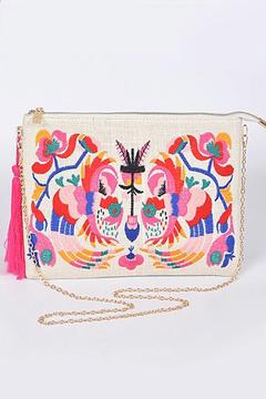 Shoptiques Product: Embroidered Clutch
