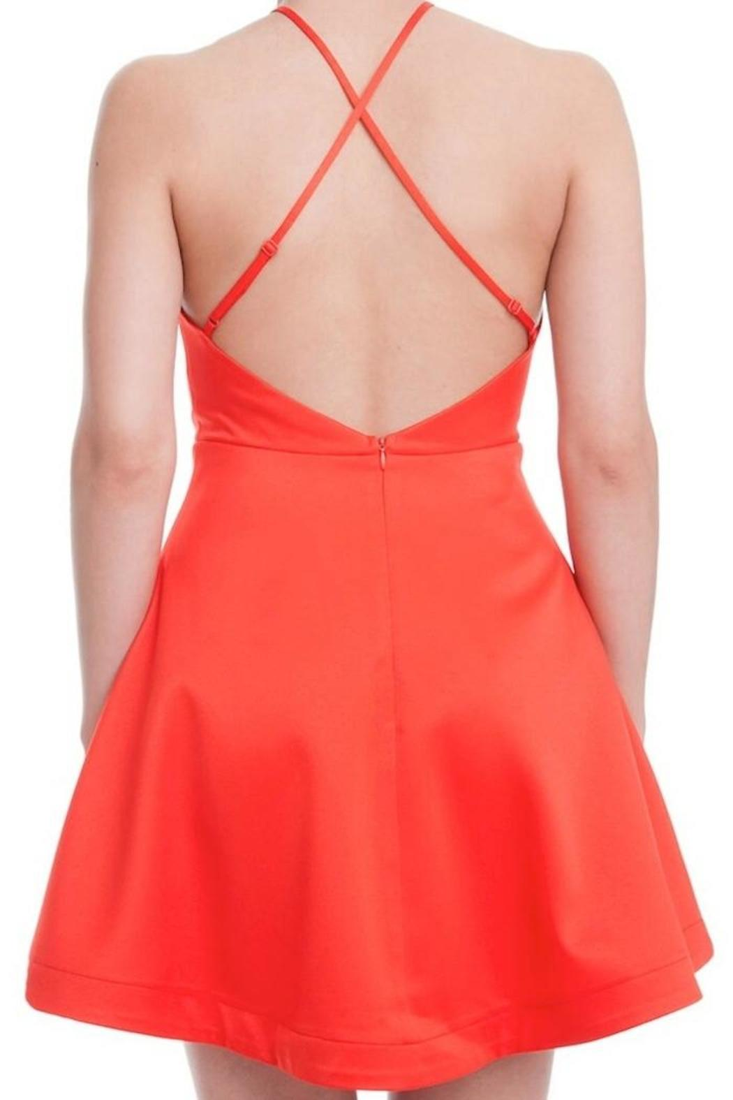 Yipsy Fit Flare Dress - Side Cropped Image