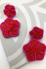 Yipsy Floral Bead Earrings - Product Mini Image