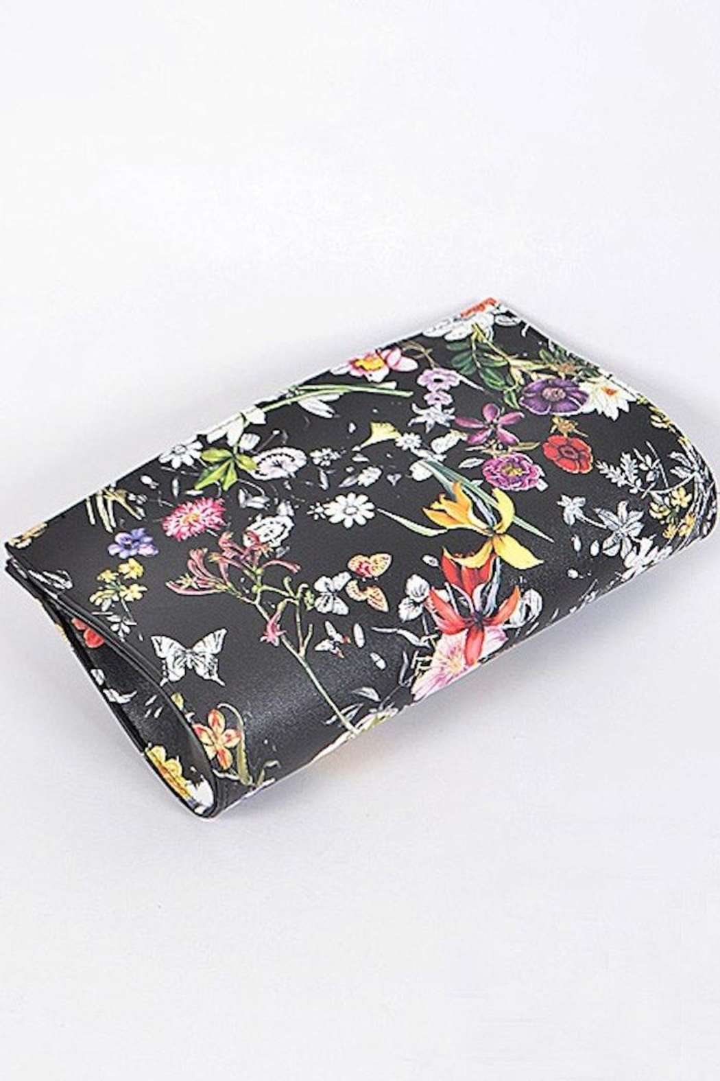 Yipsy Floral Clutch - Side Cropped Image