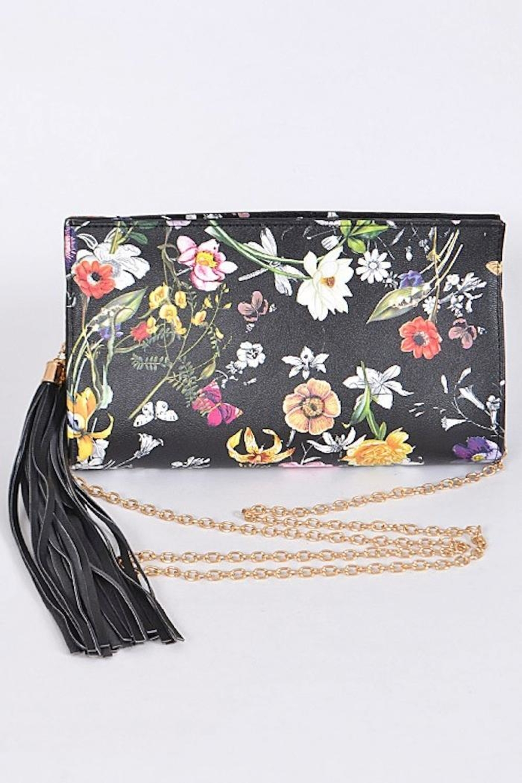 Yipsy Floral Clutch - Main Image