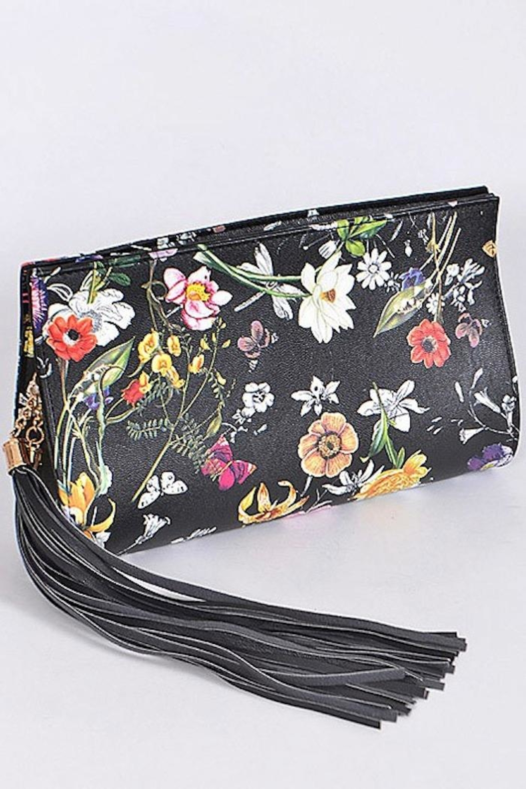 Yipsy Floral Clutch - Front Full Image