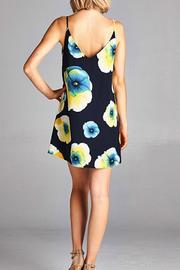 Yipsy Floral Tank Dress - Front full body