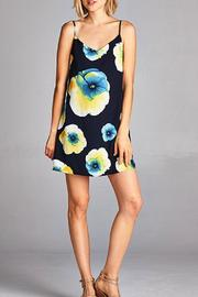 Yipsy Floral Tank Dress - Front cropped
