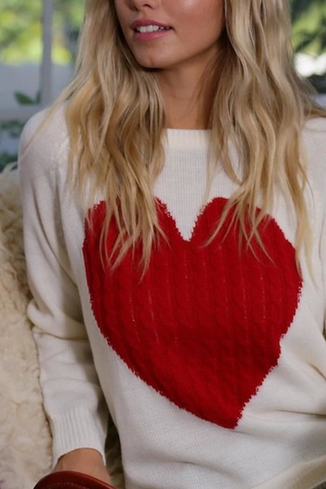 Yipsy Heart Sweater - Front Full Image