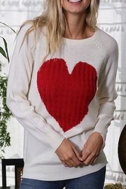 Yipsy Heart Sweater - Front cropped