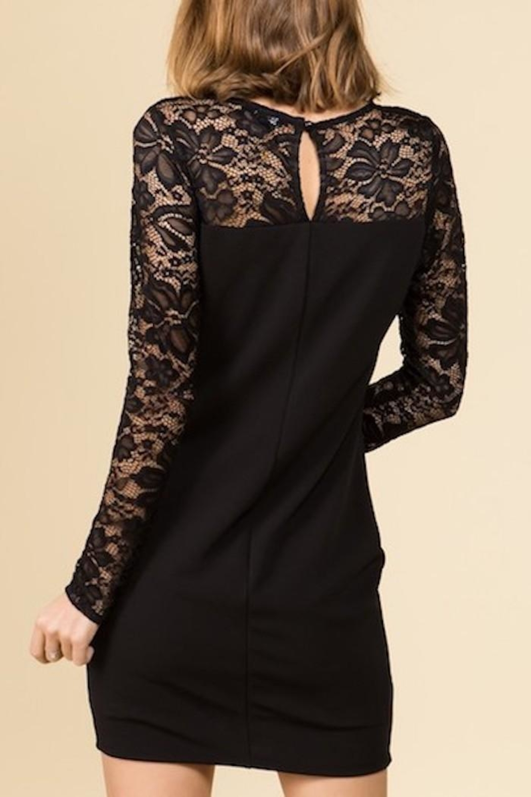 Yipsy Lace Dress - Side Cropped Image