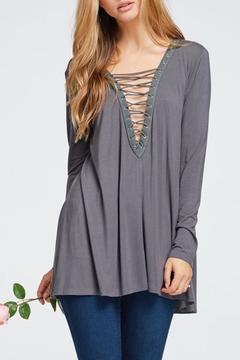 Yipsy Lace Up Top - Product List Image
