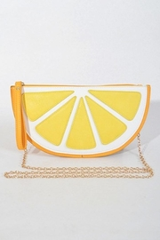 Yipsy Lemon Clutch - Front cropped