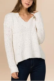 Yipsy Popcorn Knit Sweater - Front cropped