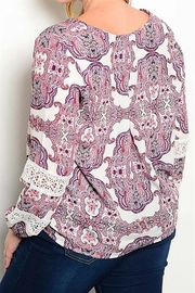 Yipsy Printed Top - Front full body