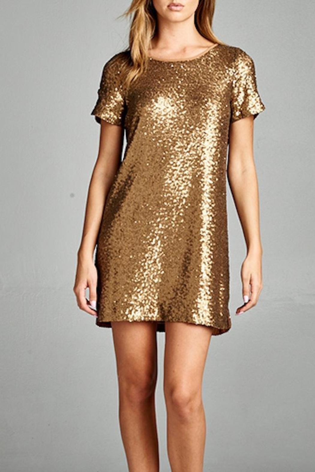 Yipsy Sequin Shift Dress from Louisiana by Yipsy Boutique ...