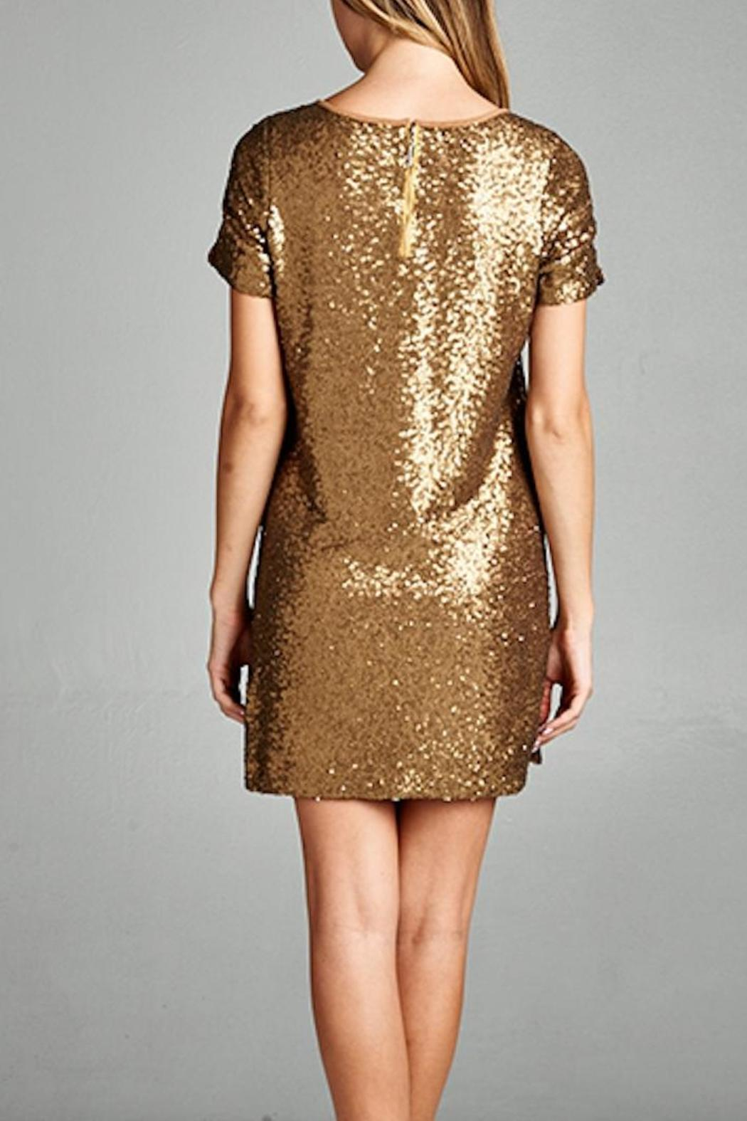 Yipsy Sequin Shift Dress from Louisiana by Yipsy Boutique — Shoptiques