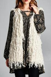 Yipsy Shaggy Vest - Product Mini Image