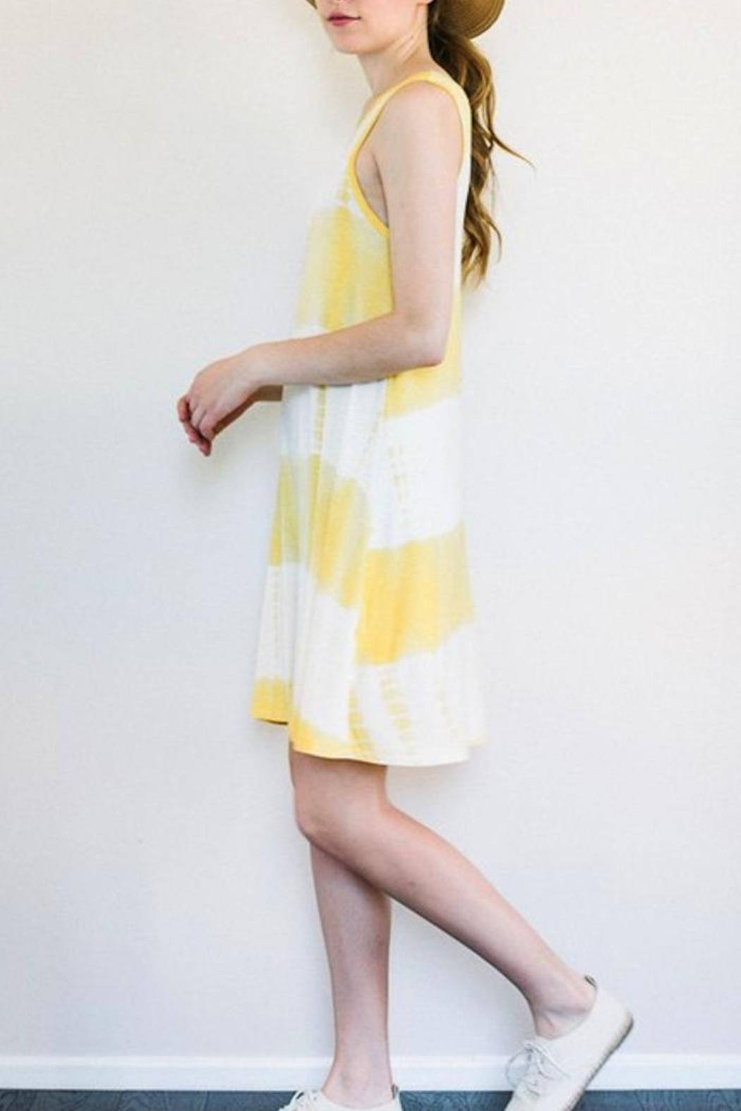 Yipsy Tie Dye Dress - Front Full Image