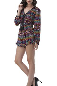 Yipsy Tribal Romper - Product List Image