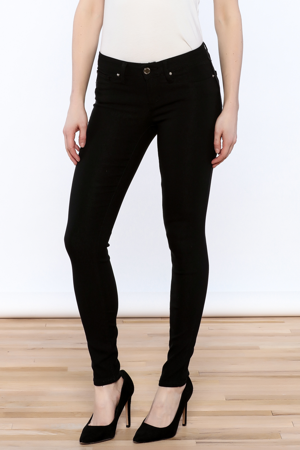 24445d11e9 YMI Black Skinny Jeans from Oklahoma by Simply Turquoise — Shoptiques