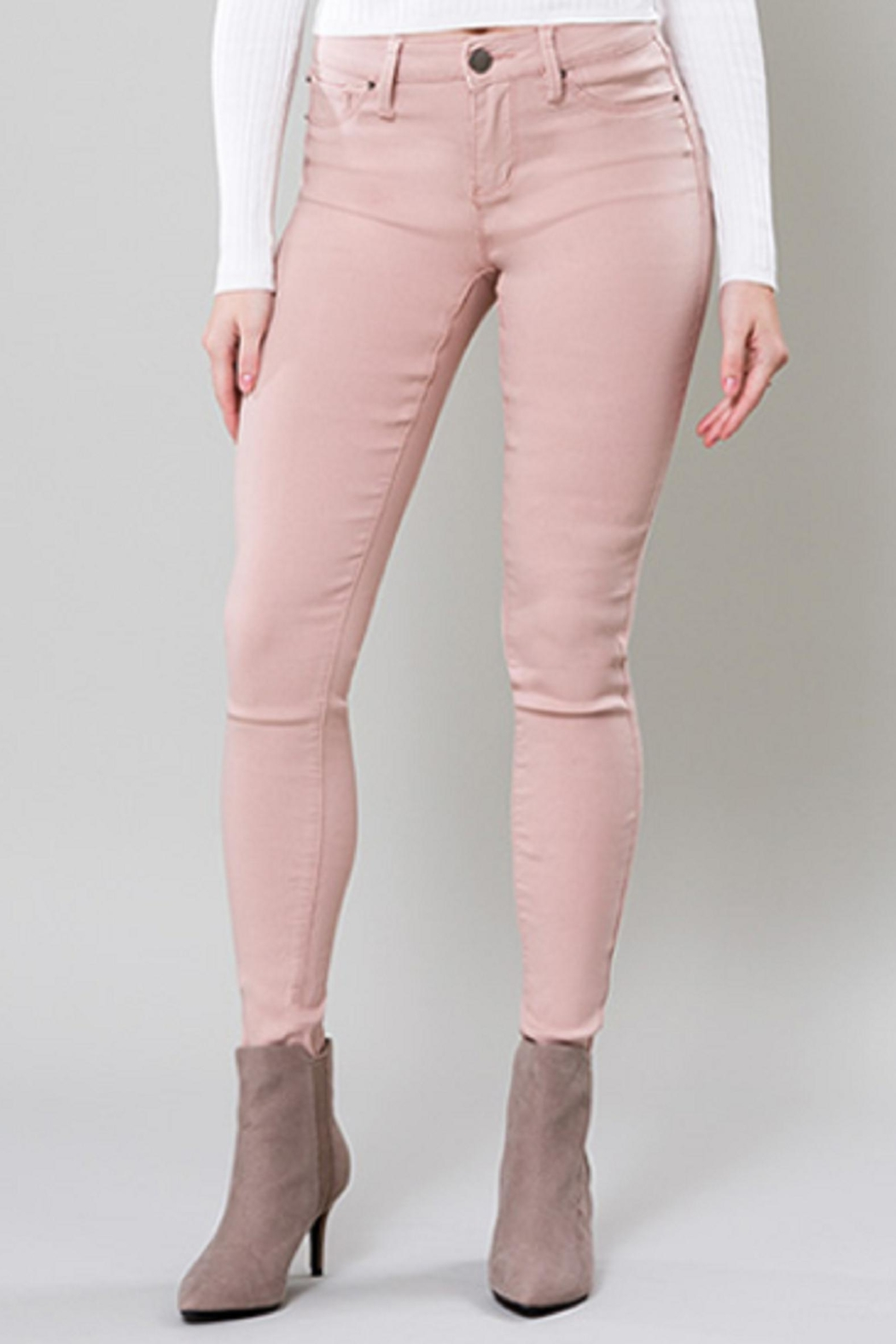 YMI Blush Hyperstretch Jeggings - Main Image