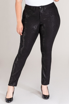 Shoptiques Product: Curvy Snakeskin Hyperstretch