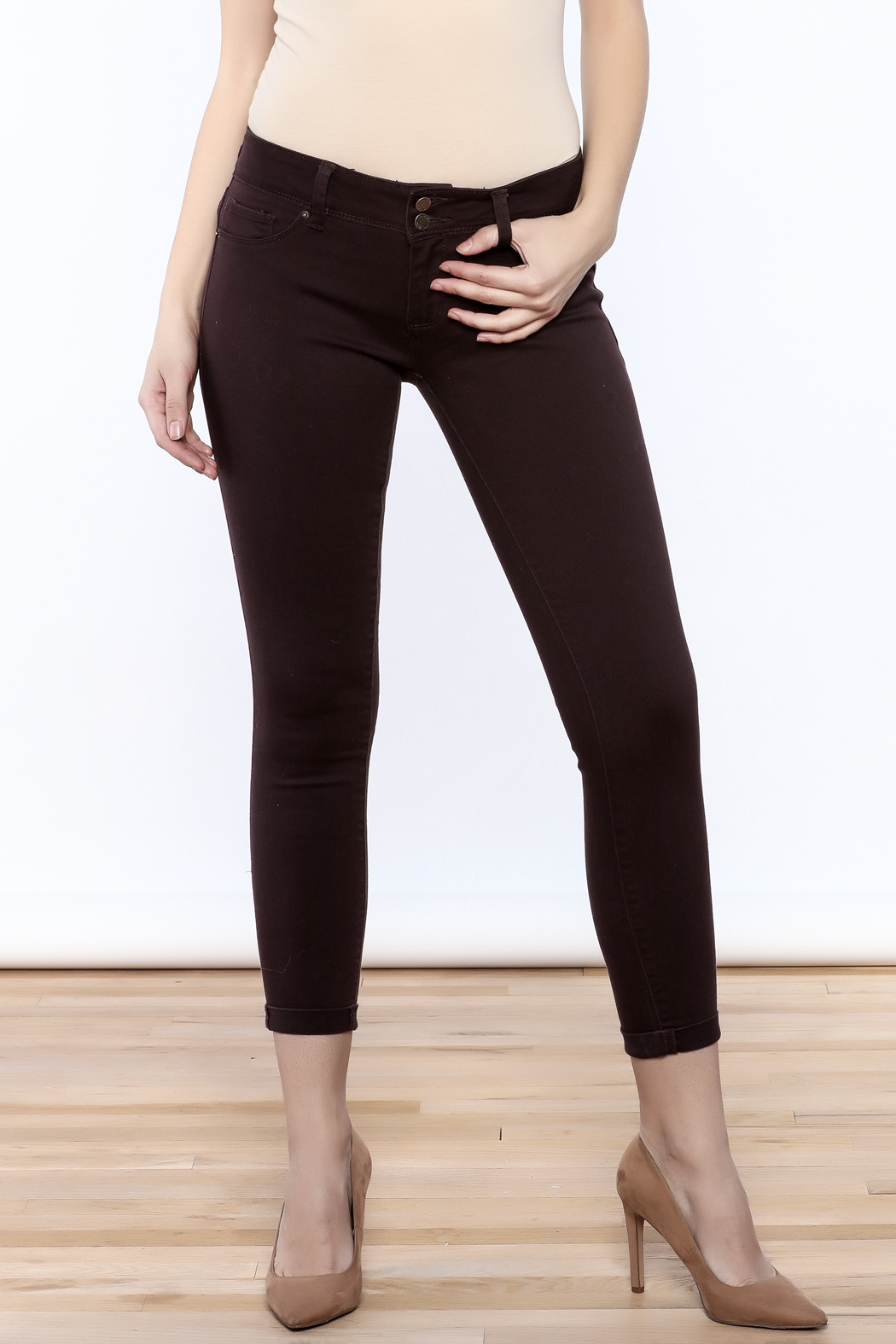 YMI Mulberry Skinny Jeans - Main Image