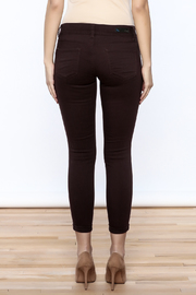 YMI Mulberry Skinny Jeans - Back cropped