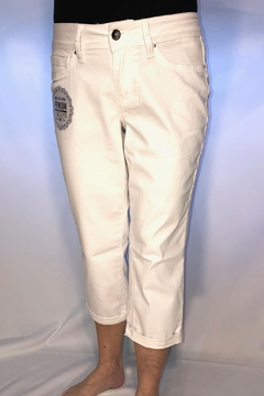 Shoptiques Product: White Cropped Jeans